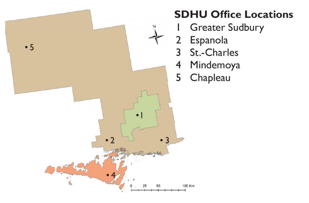 Sudbury  District Health Unit  2015 Snapshot of Public Health