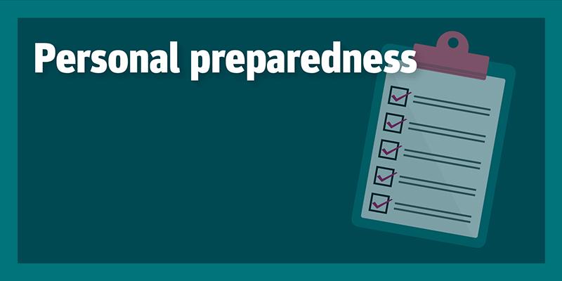 Personal preparedness (COVID-19)