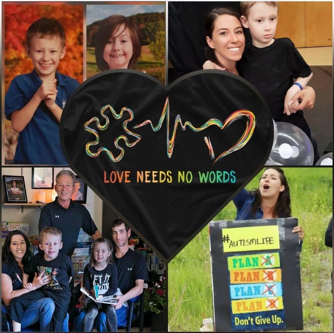 J'ai deux beaux enfants qui sont tous deux autistes. Je n'entendrai peut-être jamais la voix de mon fils et ma fille aura beaucoup de difficultés. Pourtant, l'amour n'a pas besoin de mots. Vivre dans la pauvreté est déjà assez difficile. Le manque de services pour l'autisme et les coupures dans le peu de services dont nous disposions signifient que je dois porter encore plus ma famille sur mes épaules.